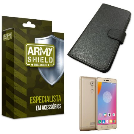 Capa Carteira Lenovo k6 plus - Armyshield