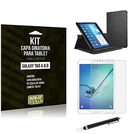 Kit Capa Giratória Samsung Galaxy Tab A 8.0' - Armyshield