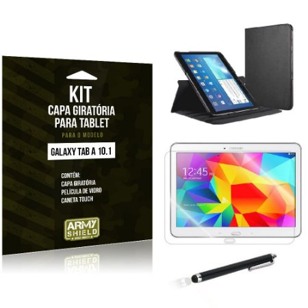 Kit Capa Giratória Samsung Galaxy Tab A 10.1' P585 - Armyshield