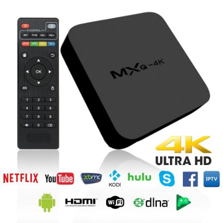 TV Box Ott Android Tv Quad Core Mxq Netflix Youtube