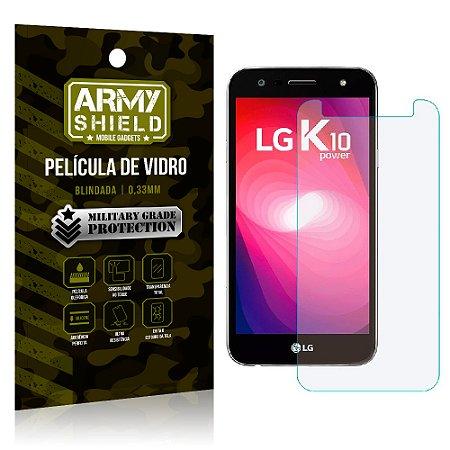 Película de Vidro LG K10 Power - Armyshield