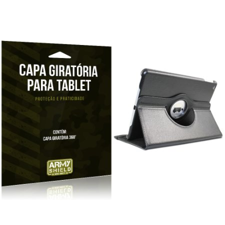 Capa Giratória para Tablet Apple iPad Pro 9.7' - Armyshield
