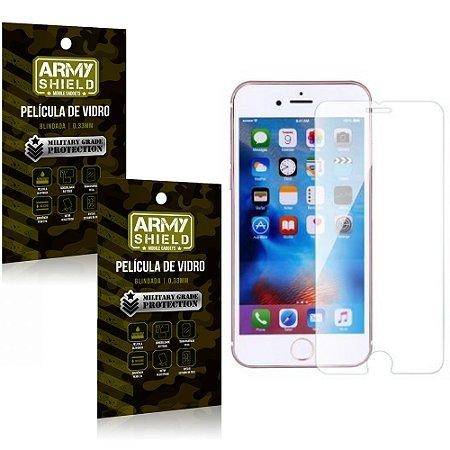 Kit 2 Películas de Vidro Iphone 7 - Armyshield