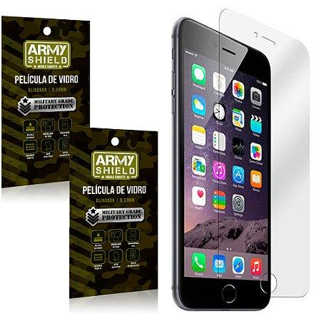 Kit 2 Películas de Vidro Iphone 6/ 6S - Armyshield