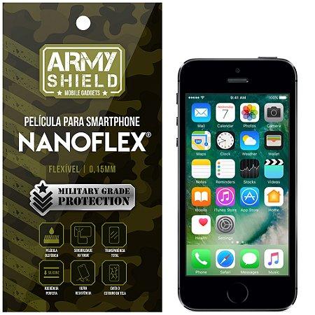 Película NanoFlex [FRONTAL] Apple iPhone 5 - 5S - 5SE  - Armyshield