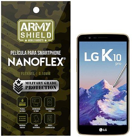Película NanoFlex [FRONTAL] LG K10 Pro  - Armyshield