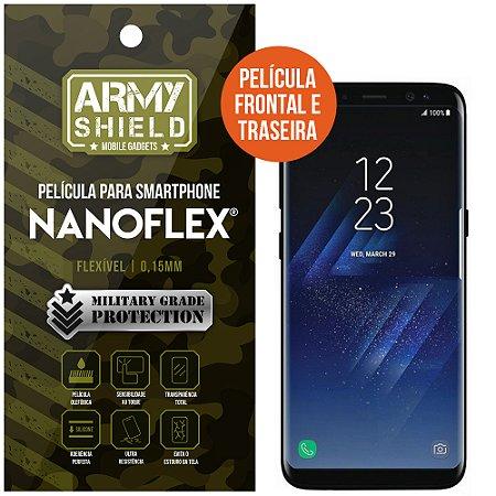 Película NanoFlex [FRONTAL E TRASEIRA] Samsung Galaxy S8 Plus  - Armyshield