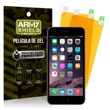Kit 2 Películas de Gel Apple iPhone 6 Plus - 6S Plus - Armyshield