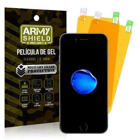 Kit 2 Películas de Gel Apple iPhone 7 - Armyshield