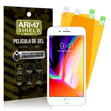 Kit 2 Películas de Gel Apple iPhone 8 Plus - Armyshield