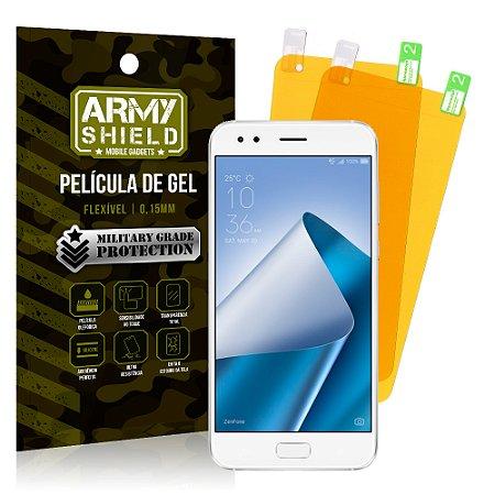 Kit 2 Películas de Gel Asus Zenfone 4 ZE554KL 5.5 - Armyshield