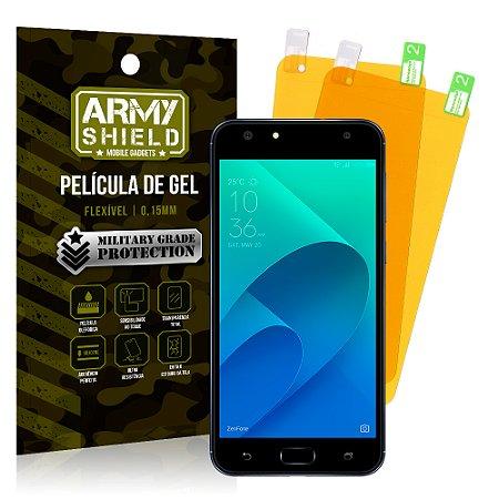 Kit 2 Películas de Gel Asus Zenfone 4 Selfie ZD553KL 5.5 - Armyshield