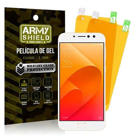 22cff822bc Kit 2 Películas de Gel Asus Zenfone 4 Selfie Pro ZD552KL 5.5 - Armyshield