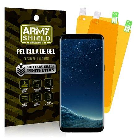 Kit 2 Películas de Gel Samsung Galaxy S8 - Armyshield