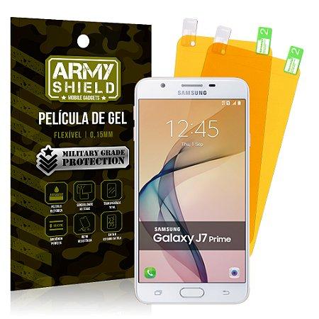 Kit 2 Películas de Gel Samsung Galaxy J7 Prime - Armyshield