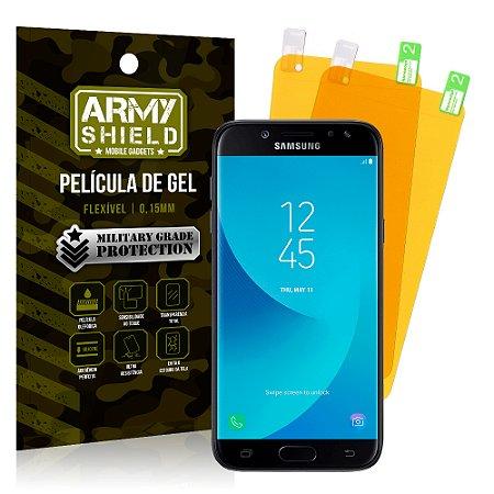 Kit 2 Películas de Gel Samsung Galaxy J7 Pro - Armyshield
