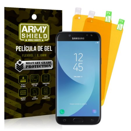 Kit 2 Películas de Gel Samsung Galaxy J5 Pro - Armyshield