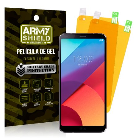 Kit 2 Películas de Gel LG G6 - Armyshield
