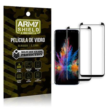 Kit 2 Películas de Vidro Curvada Samsung S9 - Armyshield