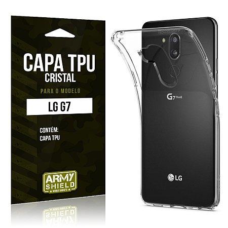 Capa Silicone TPU LG G7 - Armyshield