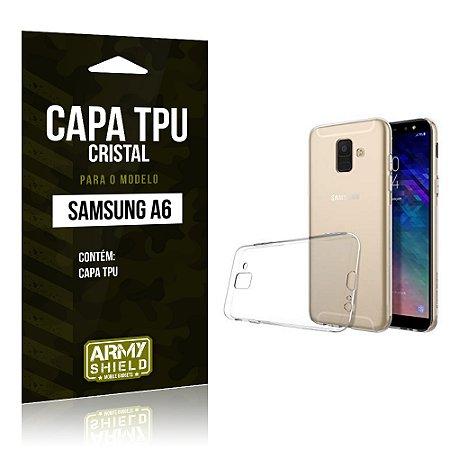 Capa Silicone TPU Samsung A6 - Armyshield