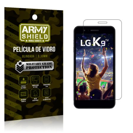 Película de Vidro LG K9 - Armyshield