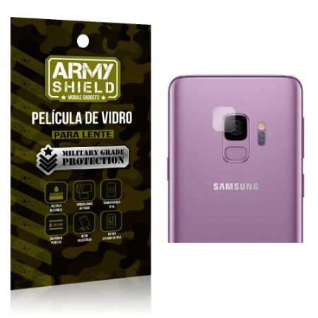 Película de Lente da Câmera Anti Risco Samsung S9 - Armyshield