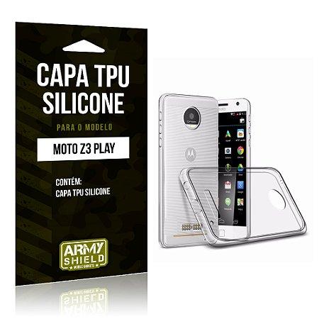 Capa Silicone Motorola Z3 Play - Armyshield