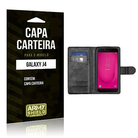 Capa Carteira Samsung J4 - Armyshield