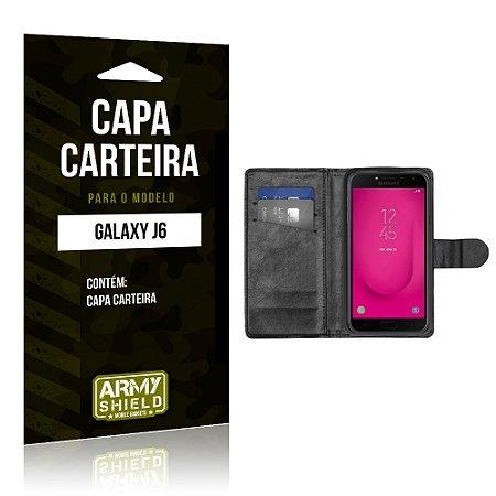 Capa Carteira Samsung J6 - Armyshield
