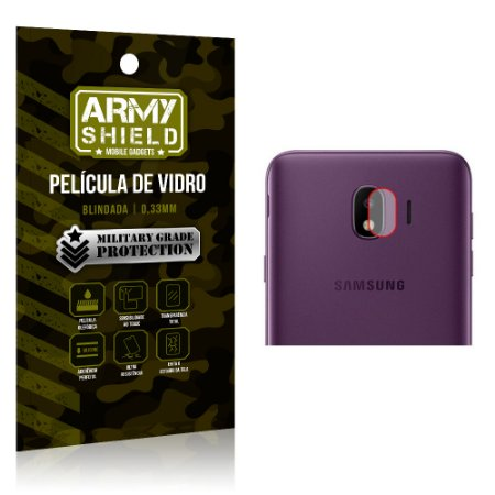 Película de Lente da Câmera Anti Risco Samsung Galaxy J4 - Armyshield
