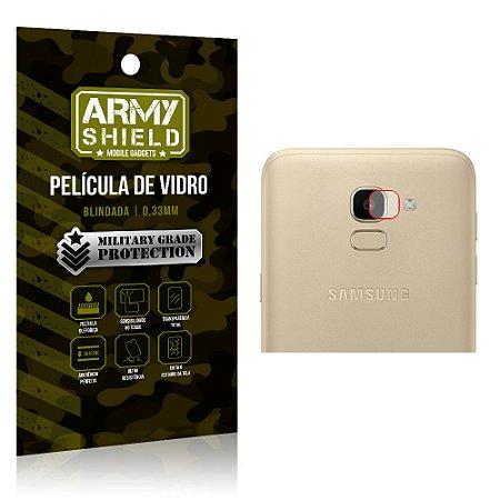 Película de Lente da Câmera Anti Risco Samsung Galaxy J6 - Armyshield