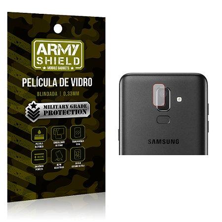 Película de Lente da Câmera Anti Risco Samsung Galaxy J8 - Armyshield