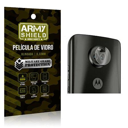 Película de Lente da Câmera Anti Risco Motorola Moto X4 - Armyshield