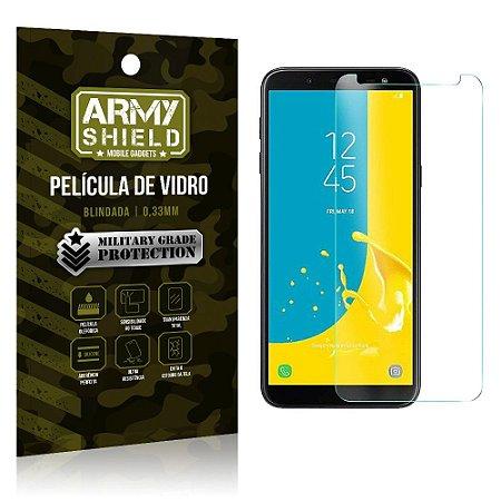 Película de Vidro Blindada Samsung J8 - Armyshield