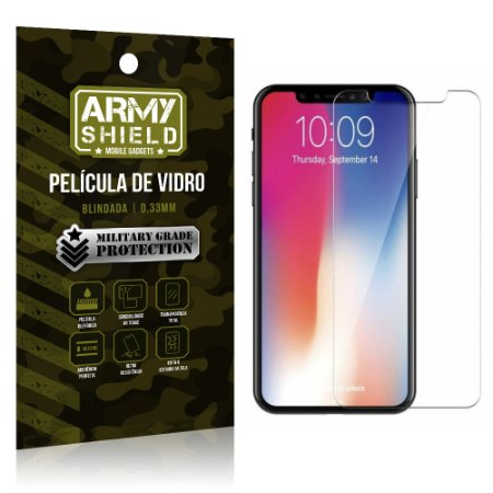 Película de Vidro Blindada Apple iPhone XR 6.1 - Armyshield
