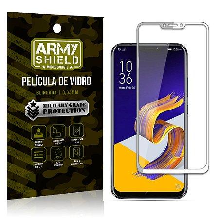 Película de Vidro 3D Cobre a Tela Toda Asus Zenfone 5 - 5Z - ZE620KL-ZS620KL Branca - Armyshield