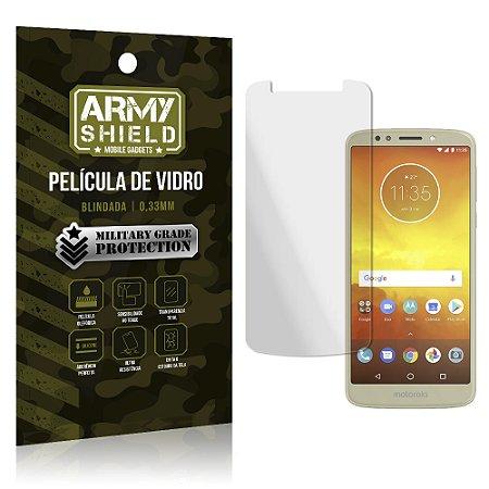 Película de Vidro Blindada Moto E5 Play - Armyshield