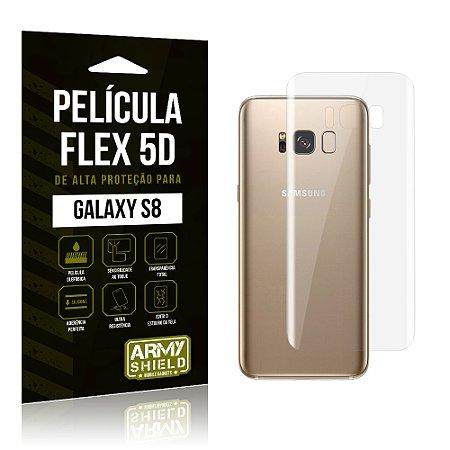 Película Flex 5D Traseira Samsung Galaxy S8 - Armyshield