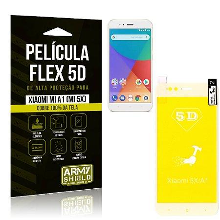 Película Flex 5D Cobre a Tela Toda Xiaomi Mi A1 (Mi 5X) Branca - Armyshield