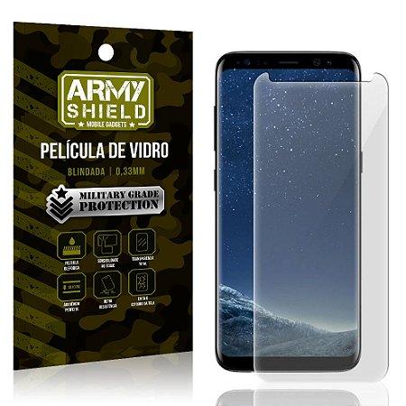 Película de Vidro Blindada Samsung Galaxy S8 - Armyshield