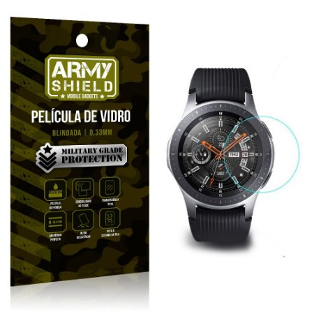 Película de Vidro Blindada Smart watch Samsung Gear S3 Frontier - Armyshield