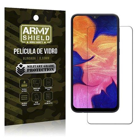 Película de Vidro Blindada Galaxy A10 - Armyshield