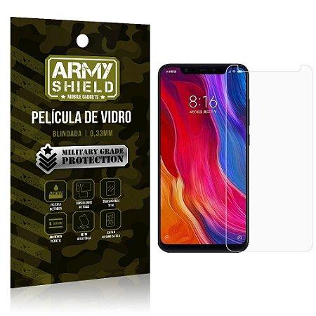 Película De Vidro Blindada Xiaomi Mi 8 Pro Tela 6.2 - Armyshield