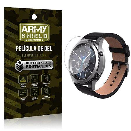 Película de Gel Blindada Smart watch Samsung Gear S3 Frontier - Armyshield