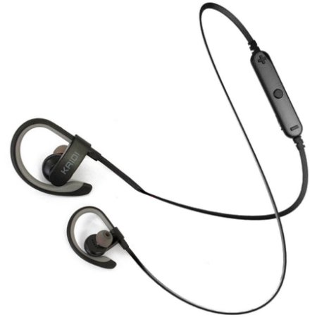 Fone de Ouvido Bluetooth Kaidi KD907 Stereo Sem Fio Wireless Sport Microfone