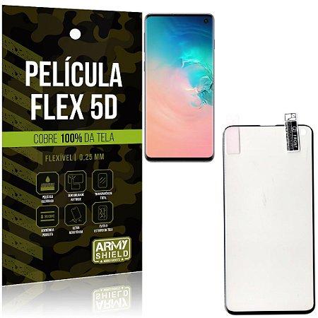 Película Indestrutível Flex Galaxy S10 Não trinca e cobre a tela toda - Armyshield