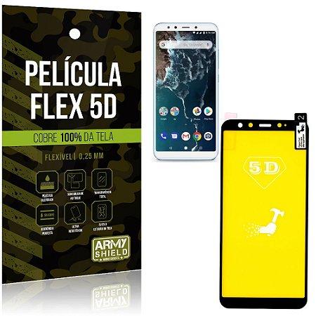 Película Indestrutível Flex Xiaomi Mi A2 (Mi 6X) Não trinca e cobre a tela toda - Armyshield