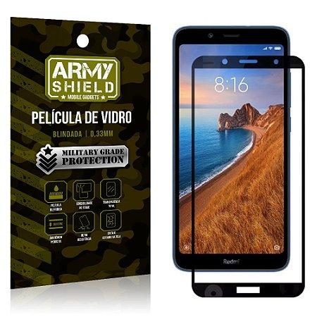 Película de Vidro 3D Cobre Tela Toda Xiaomi Redmi 7A - Armyshield