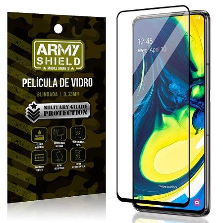 Película de Vidro 3D Cobre Tela Toda Samsung A80 - Armyshield